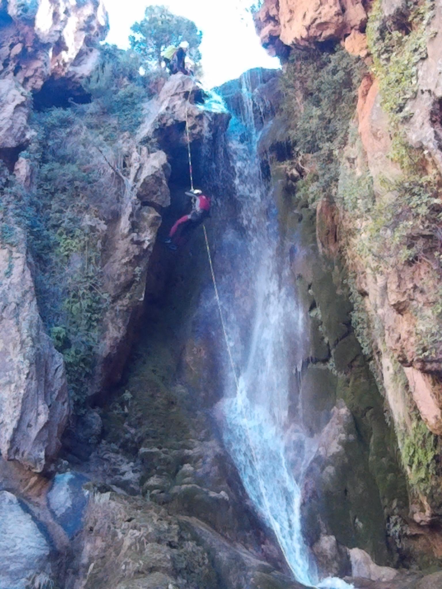 Barranco de Amanaderos (Riodeva, Teruel)