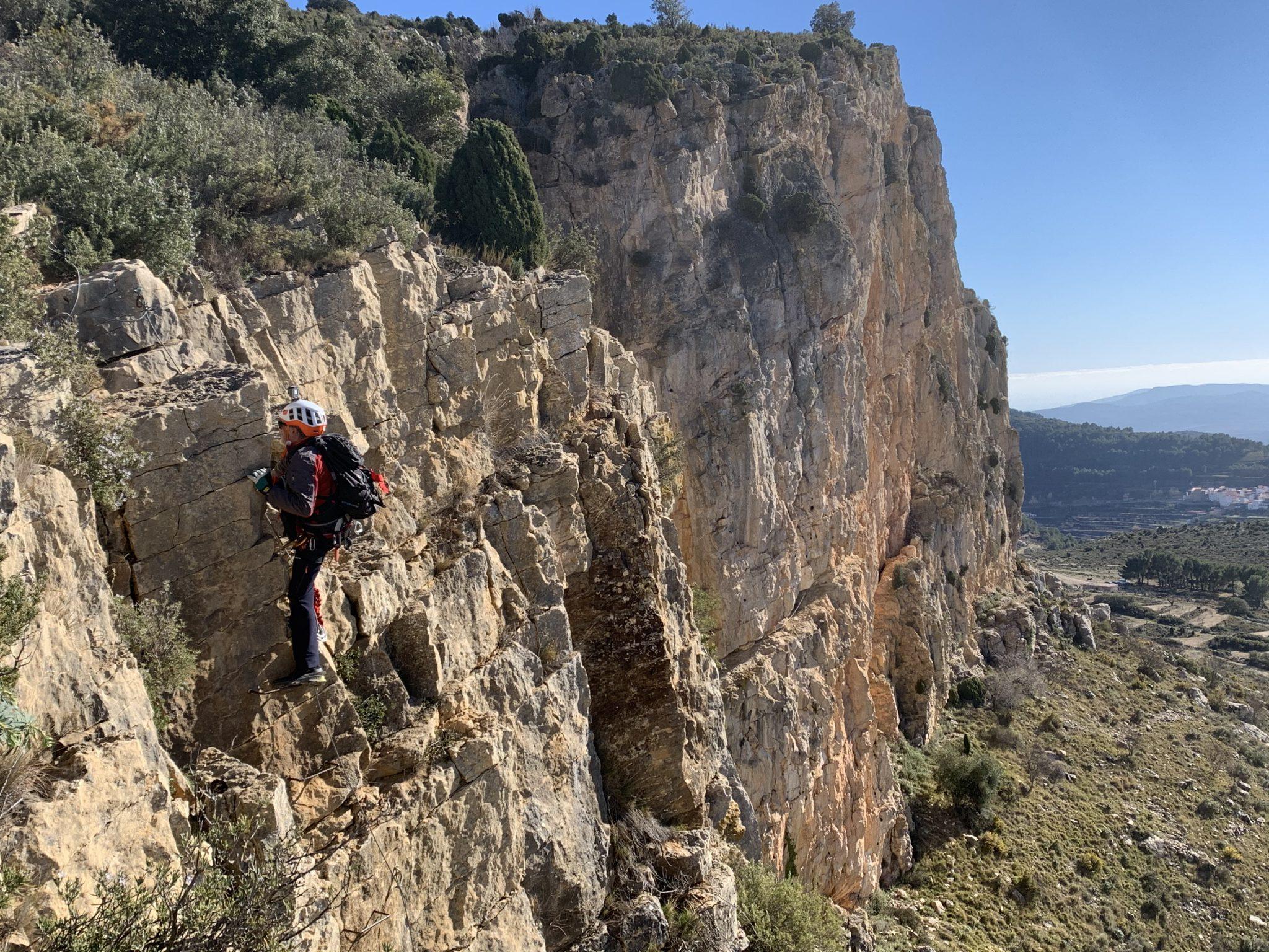 Vía ferrata Roca Figueral (Serra Engarceran, Castellón)