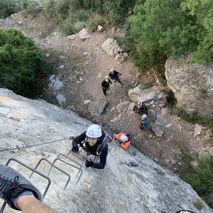 Vía ferrata Roca Molí (Alcora)